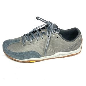 Merrell Mens Trail Glove 5 Sneakers Gray Size 10.5